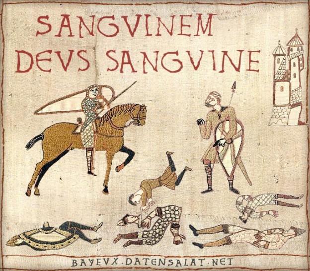 Bayeux for the Bayeux God!