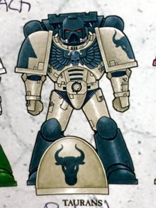 Chapters of the Adeptus Astartes - Taurans