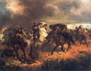 Skirmish with Tatars